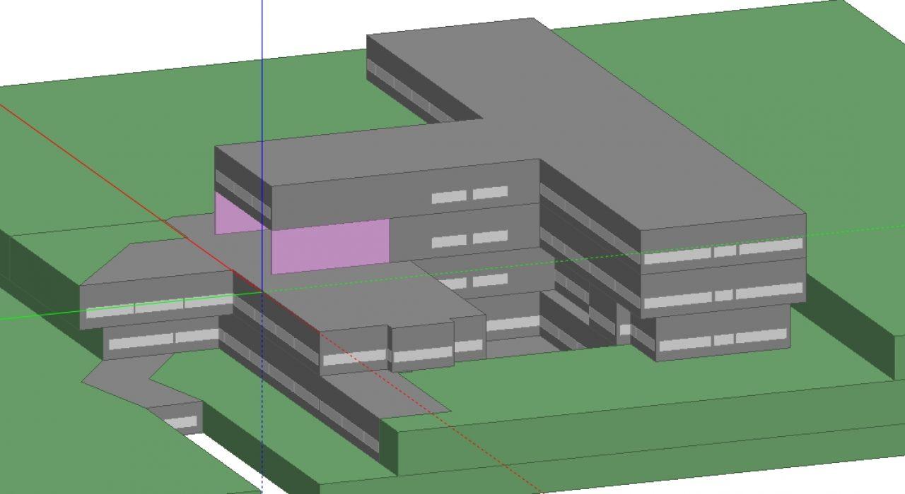 Simulação dinâmica de edifícios 